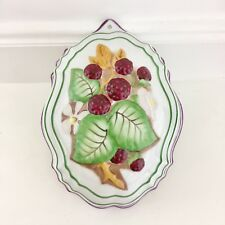 Le Cordon Bleu The Franklin Mint Blackberries Hanging Wall Decor Jello Mold 1986