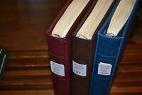 3 neuwertige Lindner-Vordruckalben Bund 1949-1995 mit Randstück-Sammlung (4)