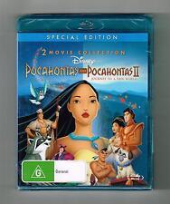 Pocahontas / Pocahontas II - Journey To A New World (2-Movie) Blu-ray New Sealed