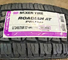 4 New LT 245 70 17 LRE 10 Ply Nexen Roadian AT Pro RA8 Tires