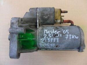 Starter Renault Master II UD 2.5 DCI 73 Kw Bj.03 >