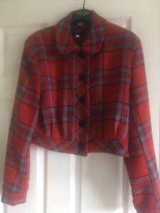 Morello La Riviera ladies gab jacket size 16 , rockabilly style