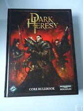 Warhammer 40k Dark heresy rpg-core de règle