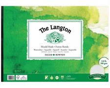 Daler Rowney A3 LANGTON 140lb Gummed Watercolour Pad NOT Surface Artist Paper