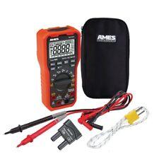 Electrician's HVAC Contractor TRMS Multimeter Ames Digital Professional