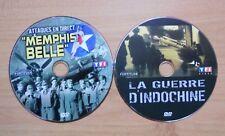 Lot de 2 DVD La guerre d indochine et Memphis belle