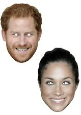 Sent by 1st Class - Prince Harry and Meghan Markle Royal Wedding Card Masks