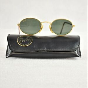 Rayban Oval Sun Glasses With Tortoise Shell Frame With Case Preowned
