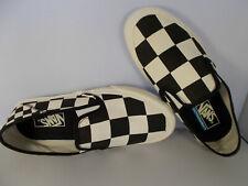 VANS Slip-On Sf Mega Check Black/White UltraCush Shoes Men's Size 7.5 New In Box