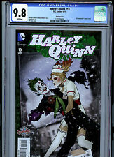 Harley Quinn #19 (2015) DC CGC 9.8 White Pages Bombshells Variant
