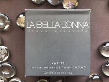 La Bella Donna Loose Mineral Foundation SPF 20 (MARIANNA) 10g Sealed No Box NEW!