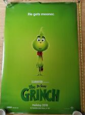 Authentic DR SEUSS THE GRINCH Original 27x40 DS Movie Theater Poster