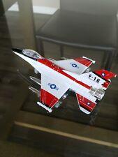 F-16 Annihlator Fighter Model, Die Cast, Sound/Light, Batteries Not Included