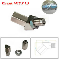 Car O2 Sensor Adapter Catalytic Exhaust Spacer Bung Fix Check Auto Engine Light