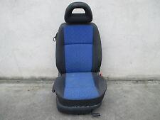 Beifahrersitz klappbar VW Lupo Sitz Ausstattung dunkelgrau / blau
