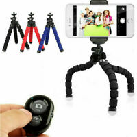Universal Mobile Phone Holder Tripod Stand For iPhone-Camera-Samsung with Remote