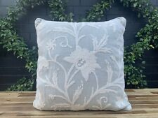 Decorative  Wool Linen Cushion Floral Design