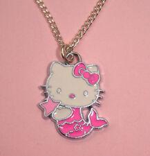 Hello Kitty Enamel Silver Plated Costume Jewellery