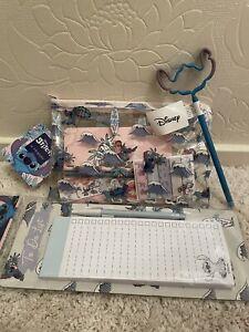 Disney Primark Stitch Stationary 3 Piece Set NEW