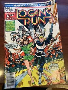 Logan's Run #1  Marvel Comics VF