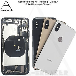 Genuine Apple iPhone Xs & Xs Max Rear Back Chassis Housing And Parts Grade A