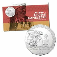 2020 50 coin UNC RAM Card Afghan Cameleers Limited Rare Collectable