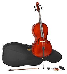 Menzel Cello Set CL-502 - 1/2 - inkl. Bogen & Softcase