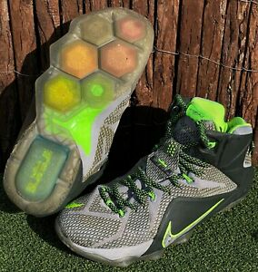 Nike LeBron 12 XII 'Dunkman' basketball shoes sneakers US 8 UK 7 EUR 41 26cm