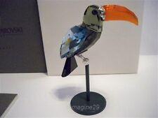 SWAROVSKI CRYSTAL PARADISE BAMBA TROPICAL BIRD RETIRED 284062 MIB COA