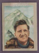 John Hunt Leader 1953 British Expedition Mount Everest Vintage Trade Ad Card