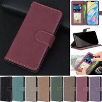 Matte Wallet Leather Flip Case Cover For Samsung A42 A51 A71 A21 A31 A11 A50 A10