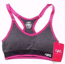 NEW Women's Ryka Seamless Athletic Padded Sports Bra Size : SMALL