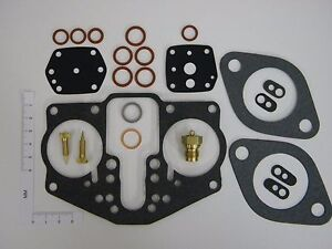 Porsche 356/356A/356B/356C 1950-65 Carburetor Kit, Solex 40PII-4, 616.108.902.03