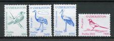 Uzbekistan 2018 MNH Birds Definitives Part II 4v Set Cranes Storks Crows Stamps