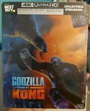 4K Godzilla vs Kong Steelbook (4K UHD/Blu-ray/Digital) *BRAND NEW, SEALED*