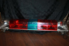 Vintage Police Fire Red Blue Flashing Truck Emergency Light Bar  TargetTech USA