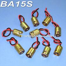 10x 1156 P21W 1073 1141 7506 BA15s Light Bulb Socket Holder Wire Harness