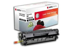 AGFA PHOTO HP Laserjet 1010 CARTR  black   wie HP Toner 12A Q2612A