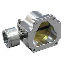 CX 80MM CNC Cut Billet Aluminum Throttle BodyFor 86-91 RX7 FC