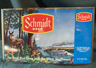VintageJACOB SCHMIDT BREWING CO. UNWRAPPED BEER FLAT- Doe & Two Fawns