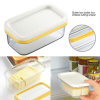 2 in 1 Butter Saver Keeper Case Refrigerator Butter Container Storage with Lid