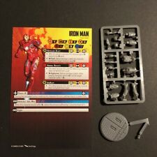 Tabletop - Marvel Crisis Protocol Core Set - Iron Man miniature + stat card