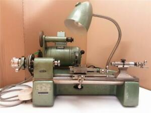 Leinen WW83 watchmakers' lathe with variable speed / reversible motor