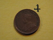 1932 Canada Small 1c (One) Cent Coin,