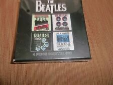 THE BEATLES OFFICIAL APPLE SET OF FOUR DRINKS COASTERS BRAND NEW SEALED BOX FAB!