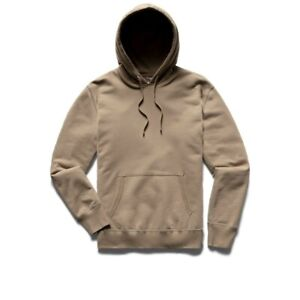 Reigning Champ Midweight Terry Hoodie Hoody - Khaki - XL - NWT