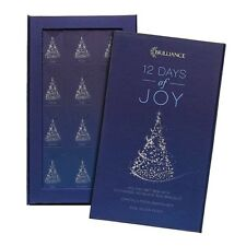 CHRISTMAS ADVENT CALENDAR Charm Jewelry Gift Set '12 days of Joy' Holiday season