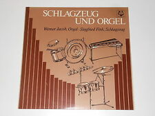 Werner Jacob-Siegfried Fink-LP-percussioni e Orgel-Hambraeus Hashagen