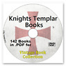 Knights Templar & Crusades 142 Books in PDF format Vintage Collection on DVD