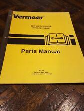 Vermeer Wr20 Wr22 Wr24 Wheel Rake Parts Manual Book Catalog List Spare Owner